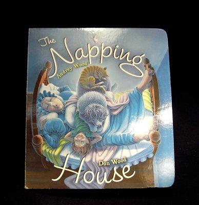 *阿威的舊書香*【絕版特價 The Napping House 西文書 英文繪本 兒童 童書】