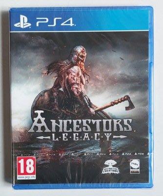 窩美 PS4 遊戲 祖先的遺產 Ancestors Legacy 先祖遺產 英文