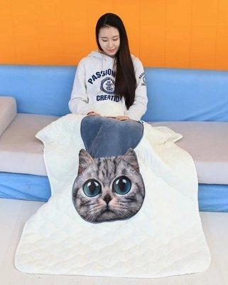 暖暖本舖 狗頭棉被 寵物棉被 狗狗棉被 寵物涼被 貓咪涼被 車用涼被 午睡枕+棉被 抱枕被/羽絨 藍芽喇叭/止鼾器/帽子