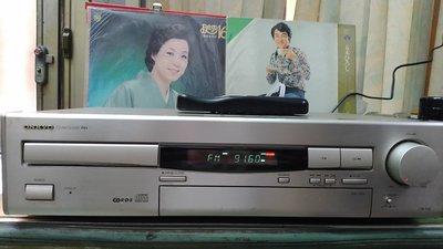 日本ONKYO.王曲CR-70R.收音.CD.擴大機.三機一体...付新代用遙控器...