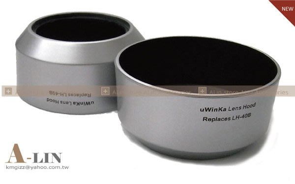 《阿玲》 OLYMPUS 奧林巴斯 遮光罩 相容原廠 LH-40B M4/3 M.Zuiko Digital 45mm f/1.8 LH40B