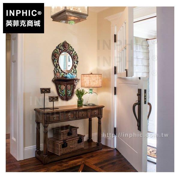 INPHIC-牆飾木雕浴室雕花泰國東南亞掛飾鏡框木質_Rrun