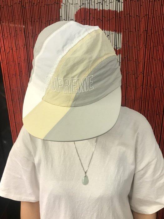 玉米潮流本舖 SUPREME DIAGONAL STRIPE NYLON HAT SS18H106 五分帽 五色