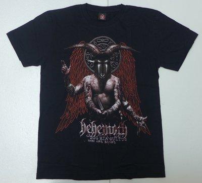 【Mr.17】Behemoth比蒙巨獸樂團 黑金屬死亡金屬樂團搖滾進口T-SHIRT短袖團T (H621)