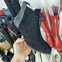 ☆╮街頭教主。直播爆款正韓高品質拼接短靴 騎士靴 機車靴
