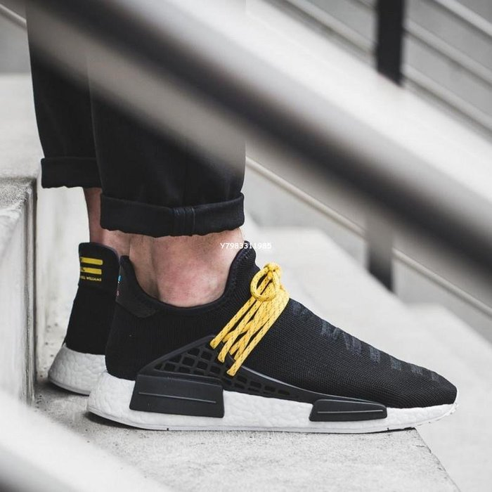 "Adidas Originals Nmd Human Race 休閑 慢跑鞋""Black""黑色 Bb3068 男女鞋"