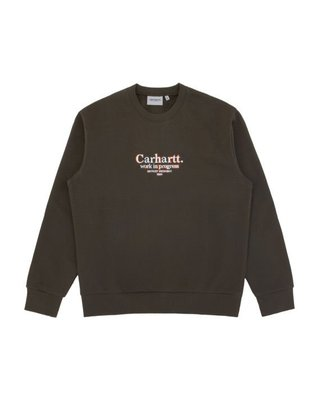 【全新現貨】CARHARTT WIP Commission sweatshirt三色精緻刺繡Logo衛衣大學T 滿額免運