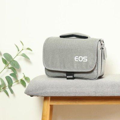 佳能相機包單反微單便攜可愛單肩男女攝影背包M6M100M5080D200D