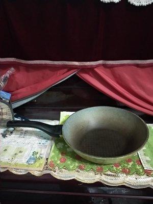 韓國製 Ecoramic 平底鍋 抄鍋
