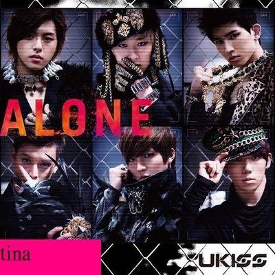U-Kiss 日本原版單曲 ALONE 初回限定版A-CD+DVD贈花絮MV全新未拆下標即售