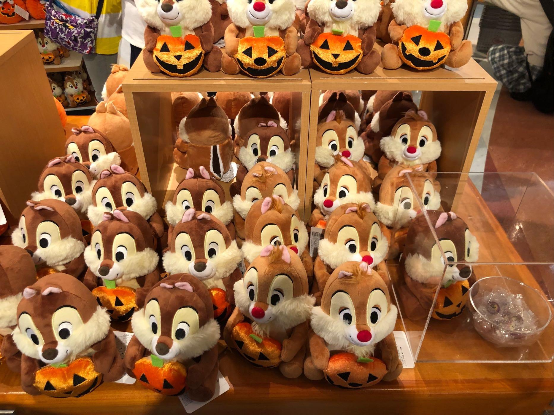 玟玟珍藏區—東京迪士尼商店 萬聖節奇奇蒂蒂糖果組 兩隻一起販售 現貨不用等