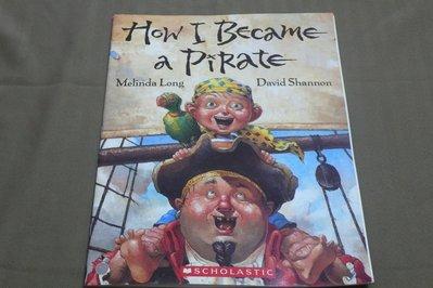 【彩虹小館mm】英文童書~How I Became a Pirate_SCHOLASTIC