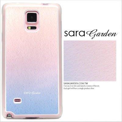 客製化 手機殼 三星 Note4【多型號製作】防摔殼 暈彩藍粉 光盾 L1201068