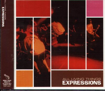 K - ALL LIVING THINGS - EXPRESSIONS - 日版 CD - NEW