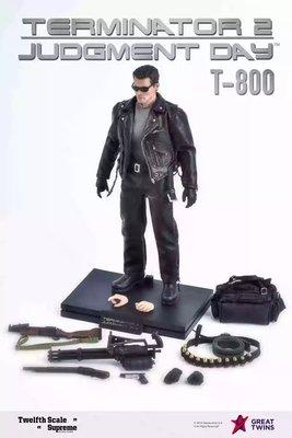 terminator 2 judgement day t-800 未來戰士 1/12
