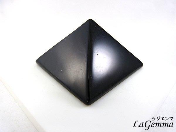 ☆寶峻晶石館☆新貨到~能量塔 黑曜石金字塔 提高正能量 6cm