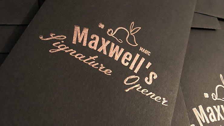 【天天魔法】【S1334】正宗原廠~視覺筆變簽字筆~~Maxwells Signature Opener