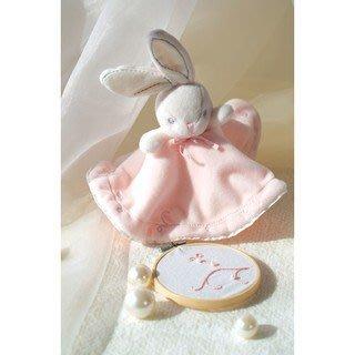 🌟正版🌟【 法國 Kaloo 】 Perle 兔兔圓裙安撫巾(粉紅)