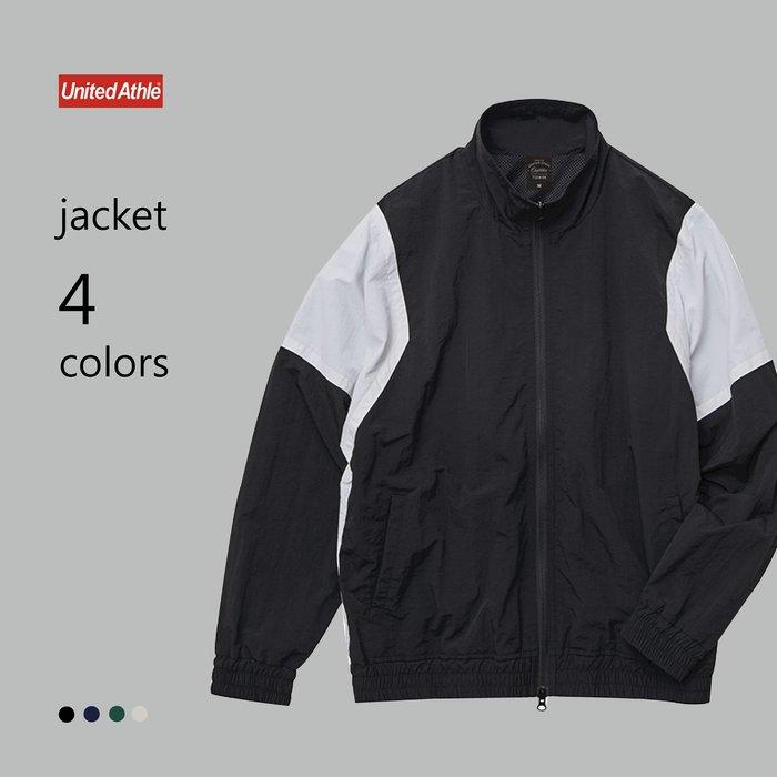 WaShiDa【UA7210】United Athle × 尼龍 運動夾克(預訂款十月上旬到貨)