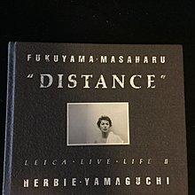 日版  福山雅治 DISTANCE-LEICA・LIVE・LIFE2攝影寫真集(絕版珍藏價990免運)