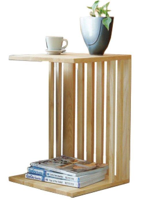 FA-291-3【歐瑞家具】直柱本色小邊几/L型沙發/高品質/限新竹以北區/超低價/系統家具/高品質/1元起