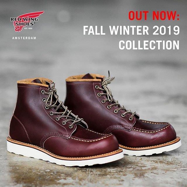 《FOS》2019秋冬新款 RED WING 8856 美製 手工 靴子 復古 潮流 木村 貝克漢 型男 新款 熱銷