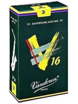 §唐川音樂§【Vandoren V16 Alto Reeds 薩克斯風 中音 V16 深綠盒 竹片 10片裝】(法國)
