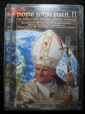 教宗若望 保祿二世 Pope John Paul II - Celebration of The Great Jubilee - 進口DVD  - 401元起標