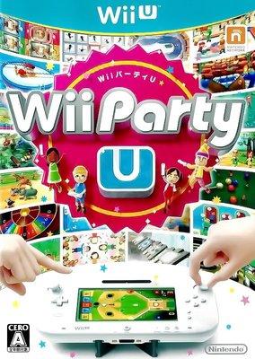 【二手遊戲】WIIU WII U 派對 PARTY U 日文版 電視PARTY 客廳PARTY 桌上PARTY 台中恐龍