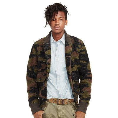 Denim &Supply Camouflage Bomber jacket 尺寸M 全新 現貨