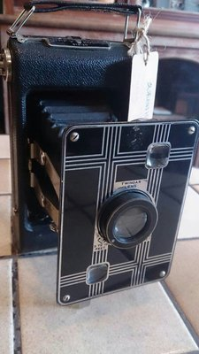 久禾antique雜貨 古董收藏 美國1930年代柯達Jiffy kodak six-20 相機