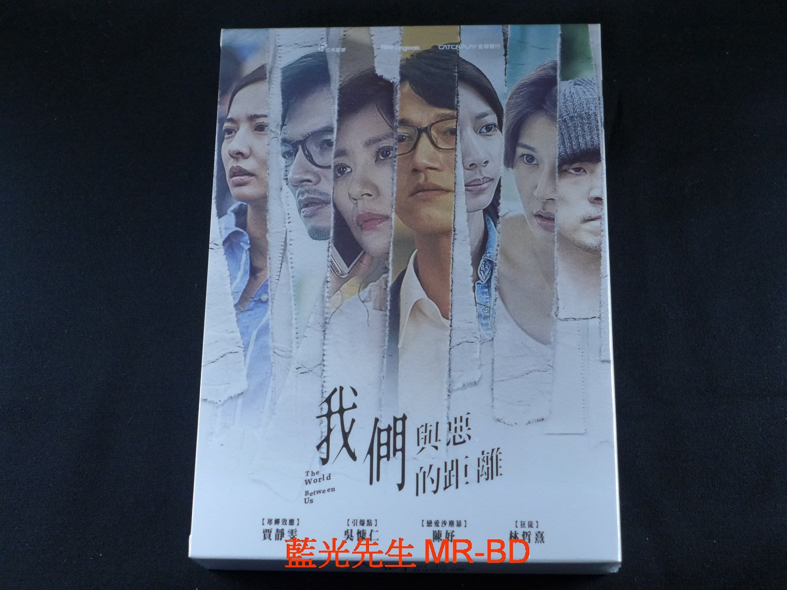 [DVD] - 我們與惡的距離 The World Between Us 四碟版 ( 采昌正版 )