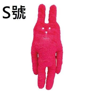 維琪哲哲  ~日本購回~全新CRAFTHOLIC宇宙人/基本款系列素色桃紅兔S號布偶小抱枕