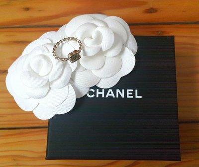 Chanel 香奈兒金色logo戒指 高雄市