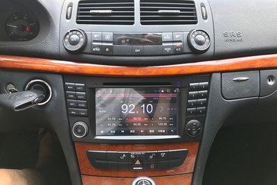BENZ W211 E-class 安卓系統專用主機