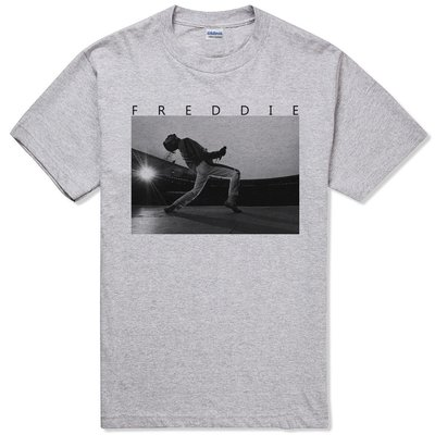 FREDDIE MERCURY-Live短袖T恤-2色 皇后 樂團 rock 搖滾 金屬 390
