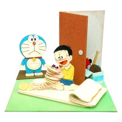 日本正版 Sankei 哆啦A夢 mini 紙模型 需自行組裝 MP08-10 日本代購