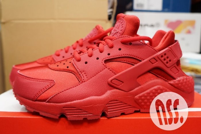 特價「NSS』 NIKE WMNS AIR HUARACHE RUN 634835 601 紅武士 23.5 24