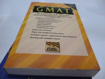 買滿500免運 =《CLIFFS  GMAT PREPARA TION  GUIDE》