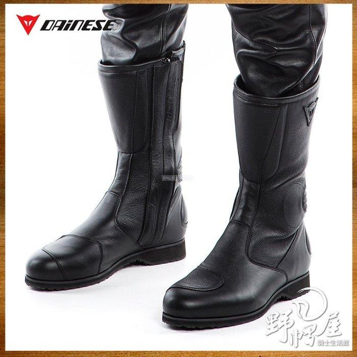 三重《野帽屋》丹尼斯 DAINESE IMOLA72 BOOTS 高筒 長筒 復古騎士車靴 美式。黑