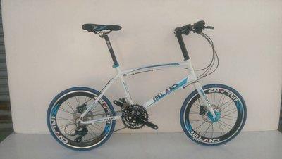 【IRLAND】愛爾蘭 SHIMANO SORA 27速 鋁合金 油壓碟煞 小徑車 451輪組 高雄 冠鑫自行車