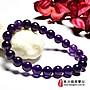 紫水晶手鍊(紫水晶珠子,珠徑約7.5~ 8mm,O...