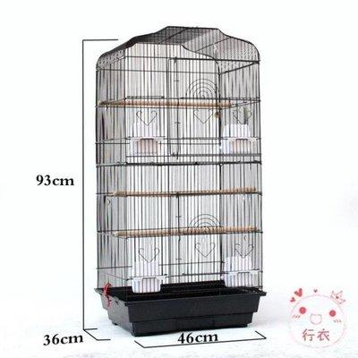 鳥籠鸚鵡籠子鳥籠大型不銹鋼鳥籠子八哥籠特大號金屬牡丹鷯哥繁殖XW海淘吧/海淘吧/最低價DFS0564