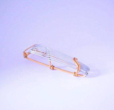 Wire Art Walker 鋁行者 Play now-古箏 鋁線/折字/樂器/訂做/圖案/鑰匙圈