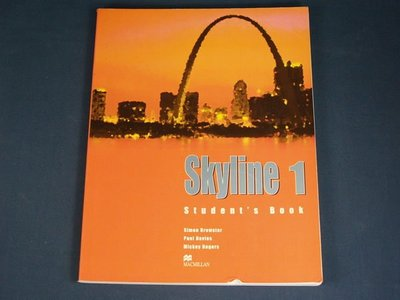 【懶得出門二手書】《Skyline 1》Palgrave Macmillan│Simon Brewster│七成新