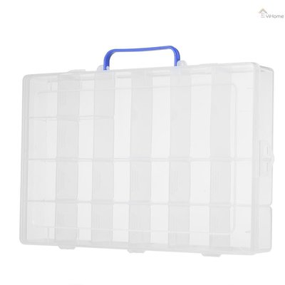 現貨~促銷~嚴選~20格帶手提可拆塑料盒pp塑膠盒電子元件收納盒SYC-215~X5D34780