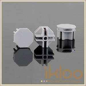 代購~ikloo宜酷屋12吋百變收納櫃延伸配件-接頭.專利八角連接頭20入組~另有10入組.門扣.收納櫃/ 組合櫃/ 組合櫃