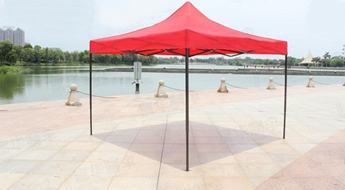 [宅大網] 176842 帳篷 黑架 2m*2m 戶外折疊大帳篷 廣告帳篷 促銷帳篷 展示篷 四角遮太陽傘