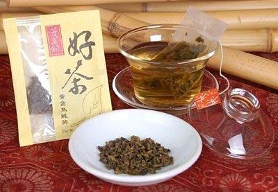 芳茗錄 黃金烏龍茶 3gx200包/袋 雲龍紙包 綠茶包