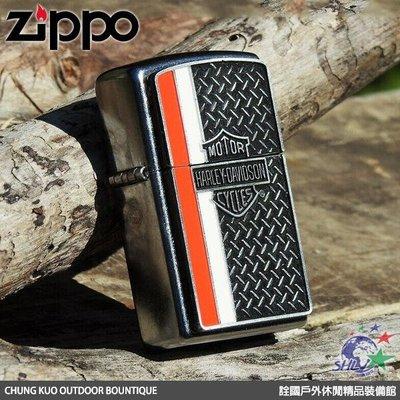 馬克斯 Zippo ZP356 美系經典 Harley Davidson 哈雷 重金屬圖紋貼飾 / NO.28732